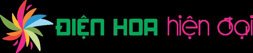 Logo chính điện hoa hiện đại