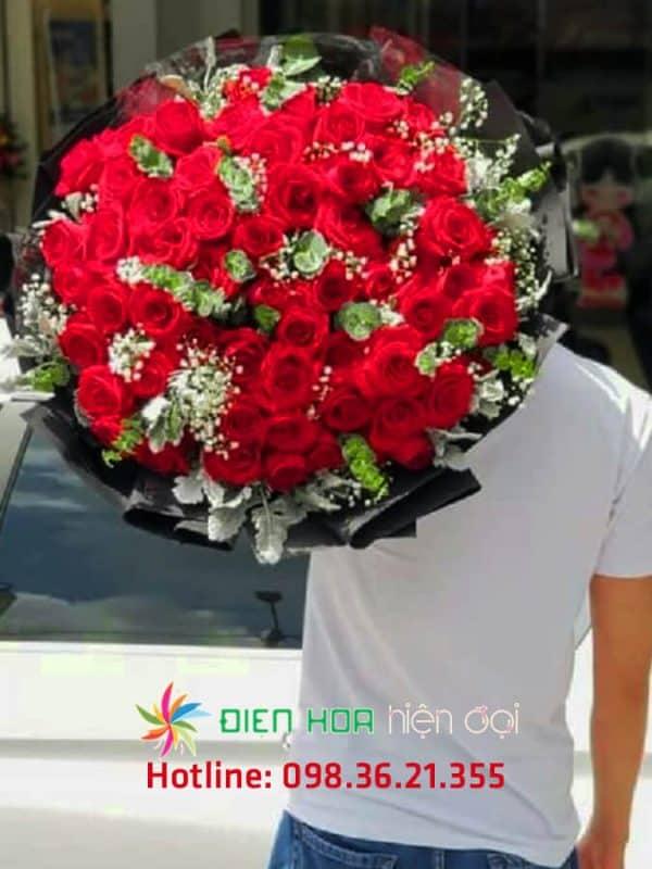 Bó hoa sinh nhật đẹp- DH242