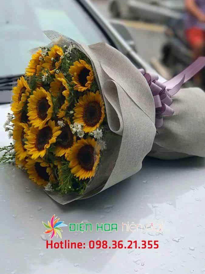 Bó hoa hướng dương nhỏ - DH262