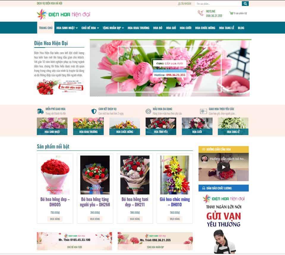 Shop hoa online đảm bảo chất lượng