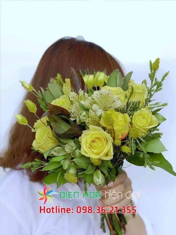 Tình khúc vàng - Hoa cưới DH341