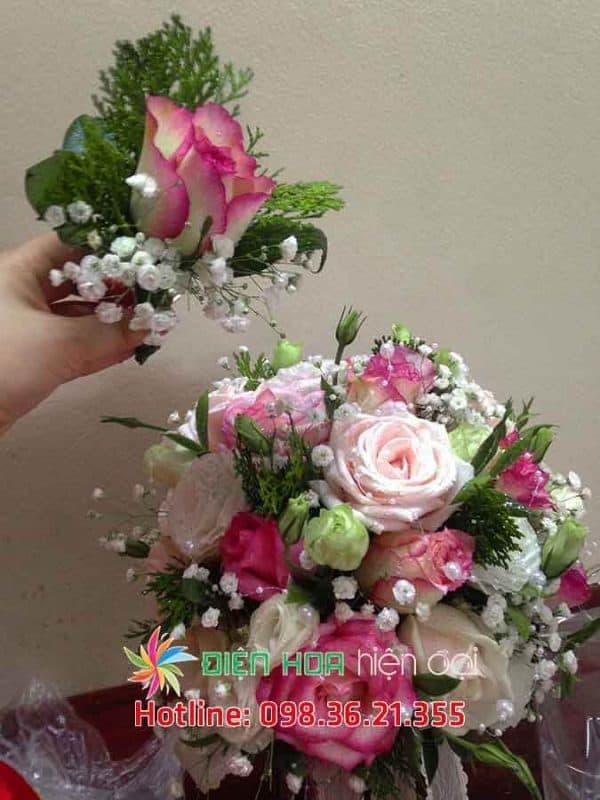 Mãi mãi yêu em - Hoa cưới DH344