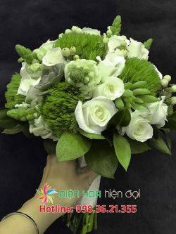 Con đường màu xanh - Hoa cưới DH347