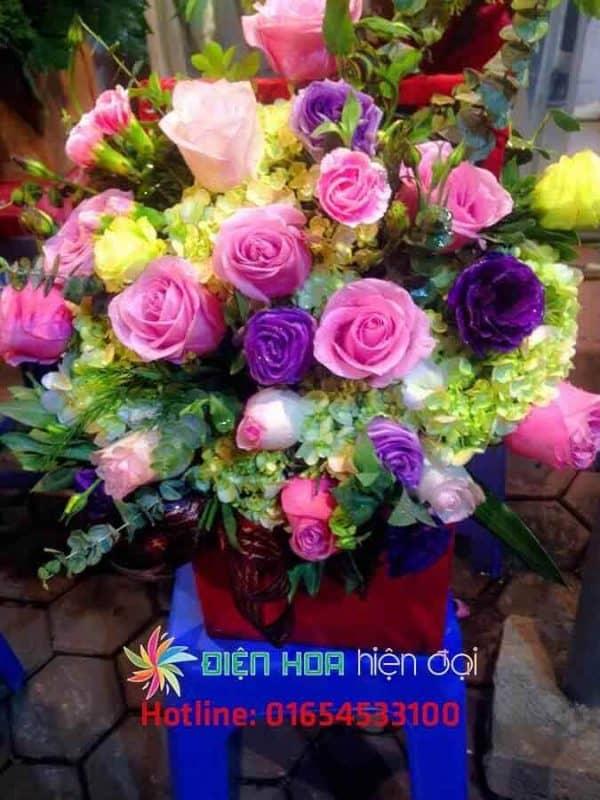 Giỏ hoa sinh nhật mới 2 - DH128