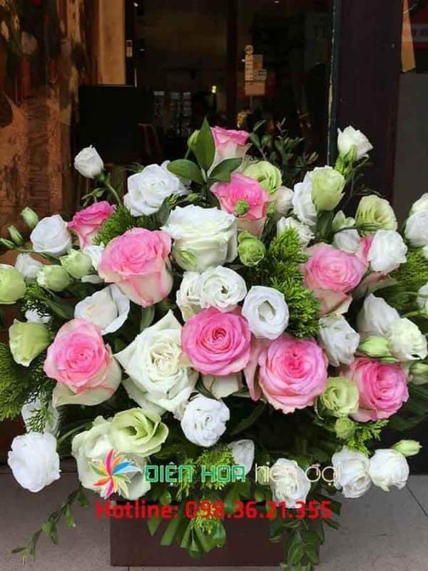 Giỏ hoa hồng mới - DH314