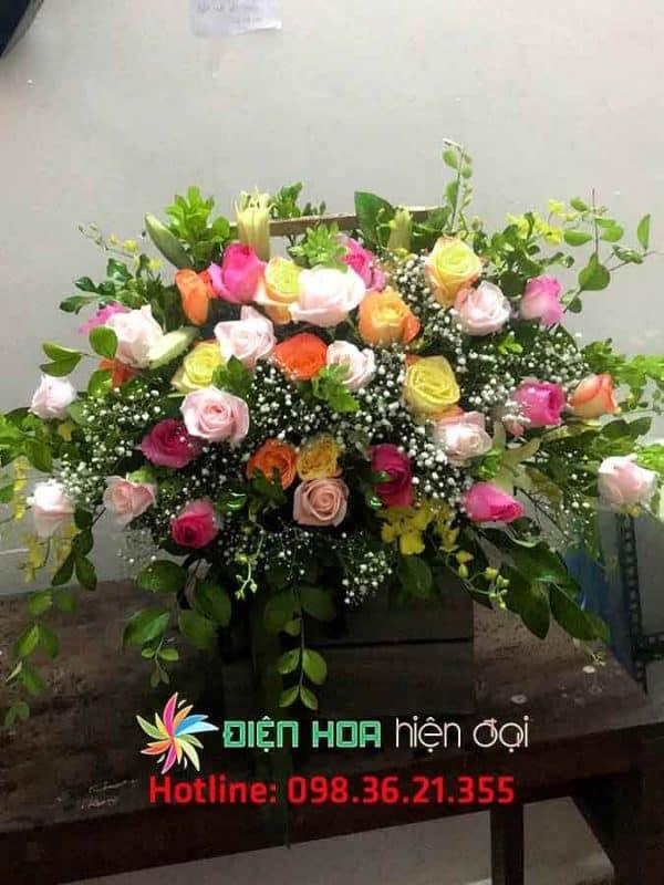 Giỏ hoa tươi Love Me - DH318