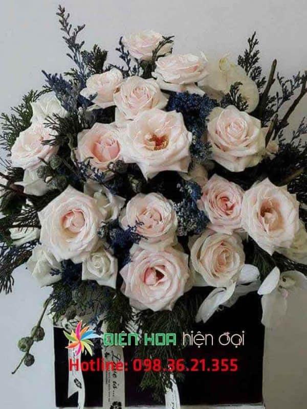 Giỏ hồng tươi My Dream - DH328
