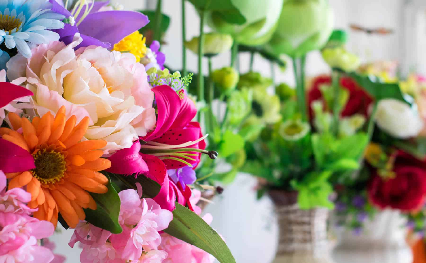 Cửa hàng hoa tươi đường Hoàng Quốc Việt